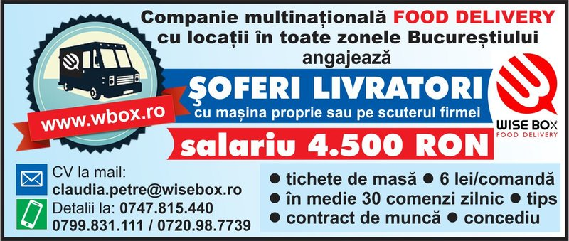 Wisebox Companie multinationala food delivery